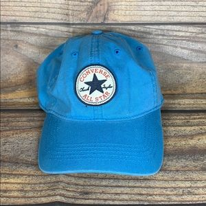 CONVERSE ALL STAR tip off hat blue